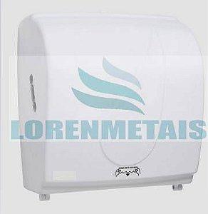 Toalheiro Dispenser de Papel Toalha Bobina Auto corte Compacto ABS - 8001