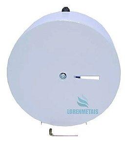 Dispenser de Papel Higiênico Inox Sem Porta Cadeado 400 mt - 20002