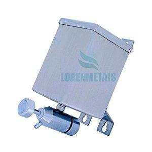 Saboneteira Industrial Inox Flex Quadrada 500ml - 10001