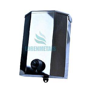 Saboneteira Industrial Inox s/ Chave Polida 1800ml - 10007