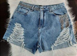 Shirt jeans c/ strass