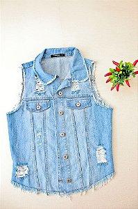 Colete Jeans curto - Villon