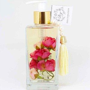 Sabonete líquido Dani Fernandes tênue mini rosas 250 ml rosas outlet