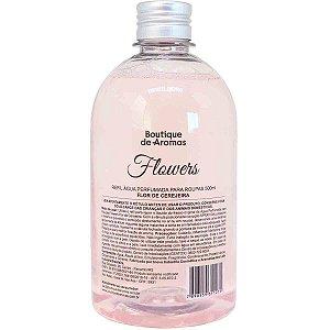 Refil água perfumada Boutique de Aromas flor de cerejeira flowers 500 ml