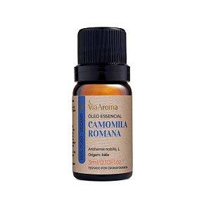 Óleo essencial Via Aroma camomila romana 3 ml