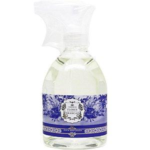 Água perfumada Madressenza para tecidos flores brancas 500 ml