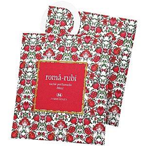 Sachê perfumado Madressenza romã rubi 80 ml