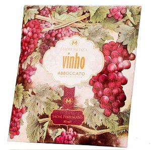 Sachê perfumado Madressenza vinho 80 ml