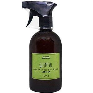 Água perfumada Boutique de Aromas quintal verbena 500 ml