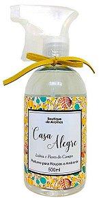 Perfume para roupas Boutique de Aromas casa alegre lichia e flores do campo 500 ml