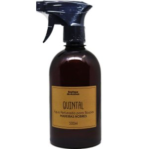 Água perfumada Boutique de Aromas madeiras nobres 500 ml