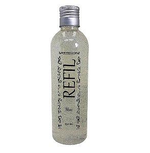 Refil sabonete líquido Dani Fernandes blue glitter 250 ml