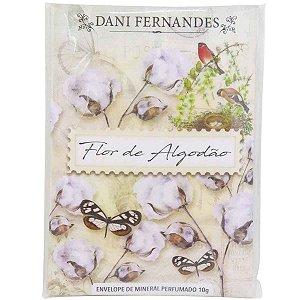 Sachê perfumado Dani Fernandes flor de algodão 10 g