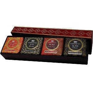 Kit de sabonetes em barra Madressenza santa terra 115 g