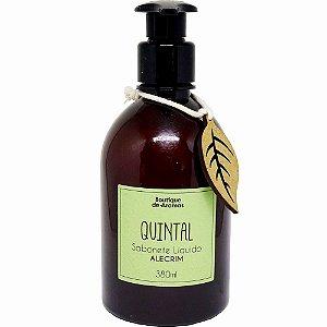 Sabonete líquido Boutique de Aromas alecrim quintal 380 ml