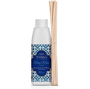 Refil difusor de aromas Wanna âmbar Além mar 260 ml