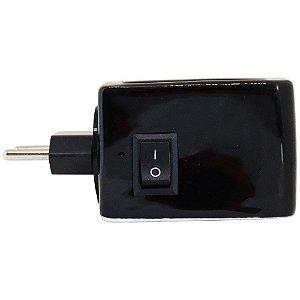 Aromatizador elétrico para ambientes cerâmico preto