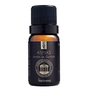Essência concentrada Via Aroma Atenas jardim de gerânio 10 ml