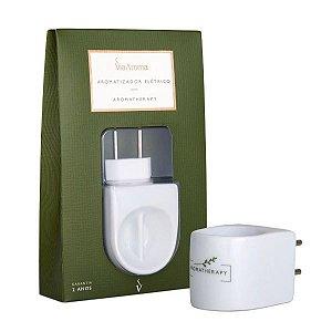 Aromatizador elétrico Aromatherapy Via Aroma branco