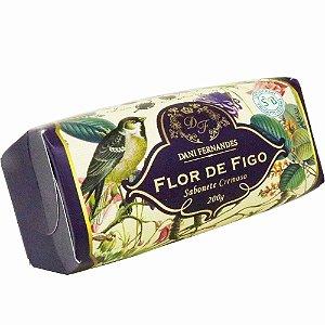 Sabonete em barra cremoso Dani Fernandes flor de figo 200 g