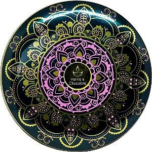 Vela perfumada Luz da Vida vanilla e chocolate verde 300 g