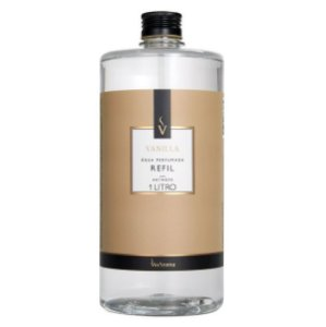 Refil água perfumada Via Aroma vanilla 1 L