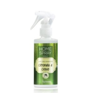 Home spray Via Aroma óleo essencial de citronela e cravo 200 ml