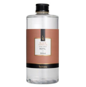 Refil home spray Via Aroma black vanilla 500 ml