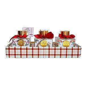 Difusor de aromas Dani Fernandes romã trio natal 120 ml