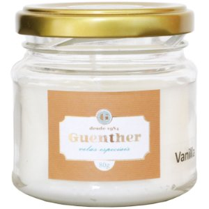 Vela perfumada Guenther pote Vanilla 80 g