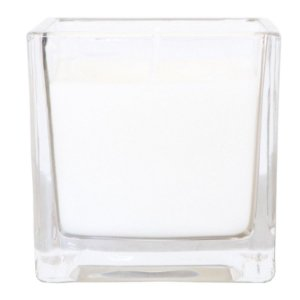 Vela perfumada Guenther em vidro quadrado Lavanda