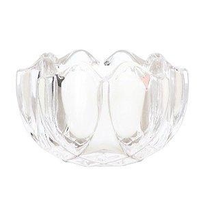 Vela perfumada Guenther em vidro de flor Vanilla