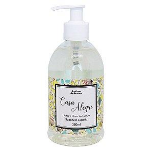 Sabonete líquido Boutique de Aromas lichia e flores do campo 380 ml
