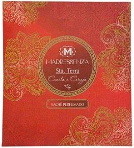 Sachê perfumado Madressenza canela e cereja 80 ml