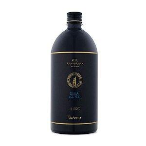 Refil água perfumada Via Aroma Dubai lírio gold 1 L