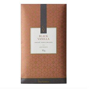 Sachê perfumado Via Aroma black vanilla 10 g