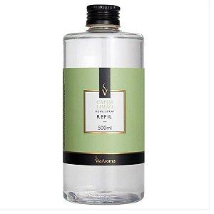 Refil home spray Via Aroma capim limão 500 ml