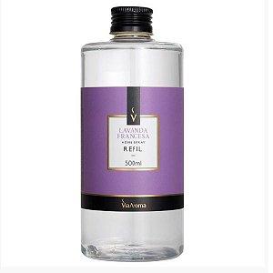 Refil home spray Via Aroma lavanda francesa 500 ml