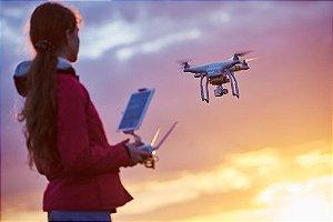 Aula pilotagem Drone
