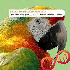 001. Sexagem de Aves por DNA