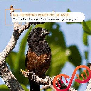 001. RG - Registro Genético de Aves (genotipagem)