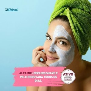 Pós peeling de Alfamix e Defensil plus 30g