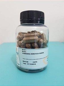 Pueraria mirifica 500mg 60 cápsulas (aumento dos seios)