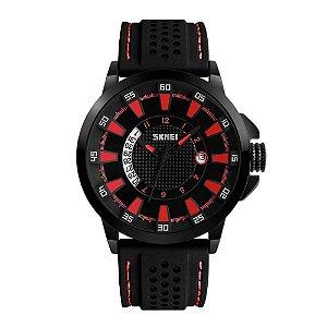 Relógio Masculino Skmei Analógico 9152 Vermelho