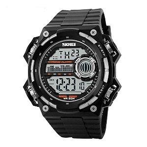 Relógio Masculino Skmei Digital 1115 - Preto e Prata