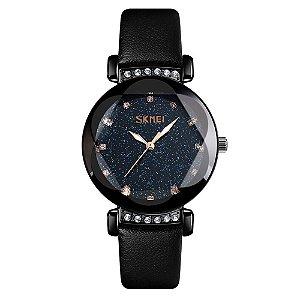 Relógio Feminino Skmei Analógico 9188 - Preto