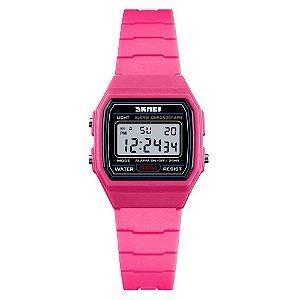 Relógio Infantil Skmei Digital 1460 Rosa