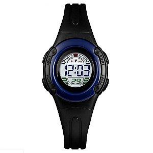 Relógio Infantil Skmei Digital 1479 Preto e Azul