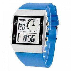 Relógio Unissex Skmei AnaDigi 0841 - Azul