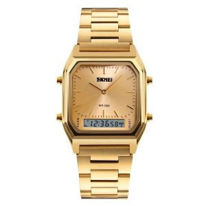 Relógio Unissex Skmei AnaDigi 1220 - Dourado